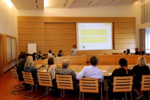 Vortrag von Professorin Dr. Anke König während der Gründungsveranstaltung des Landesverbands Baden-Württemberg des Deutschen Kitaverbands am 8. Juli 2019.